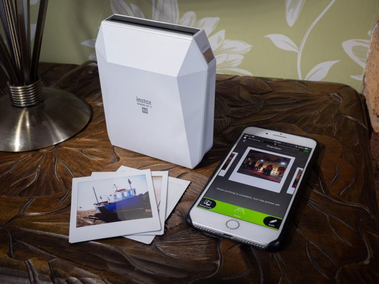 Fujifilm instax SHARE SP-3 printer review